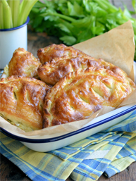 Stilton Cheese and Celery Pasties - thumb