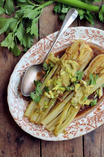 Celery braise
