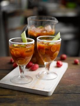 Radish Bloody Mary
