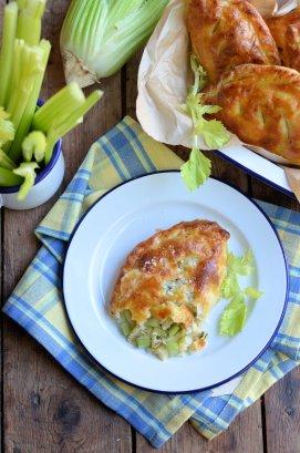 Stilton and Fenland celery pasties